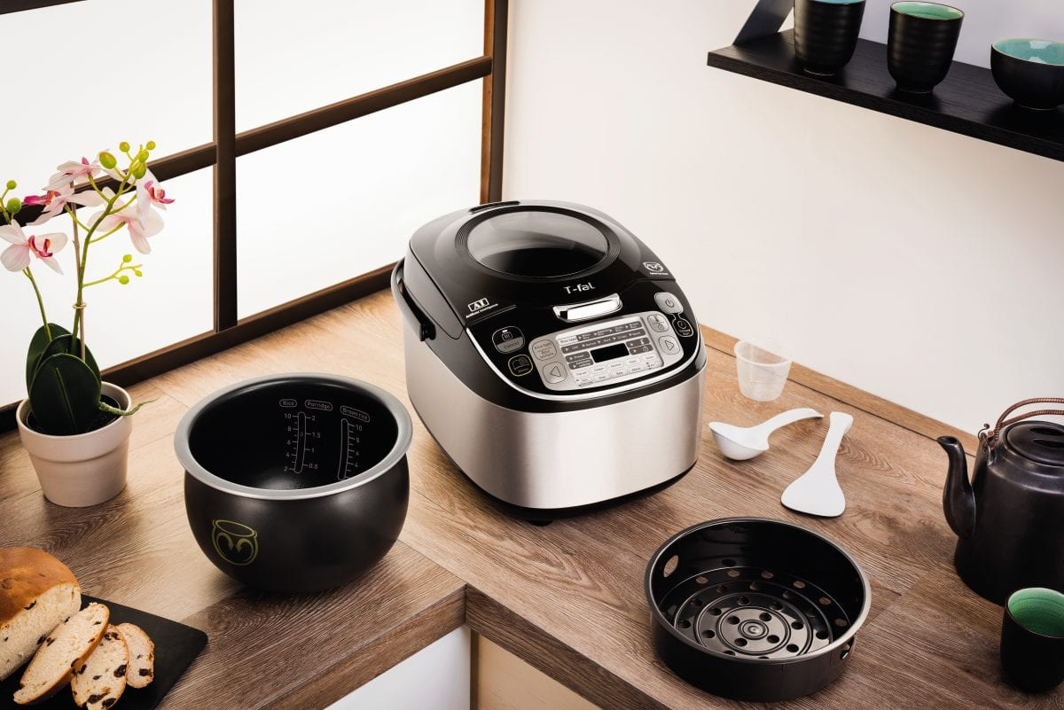 T-Fal Multicooker with accessories