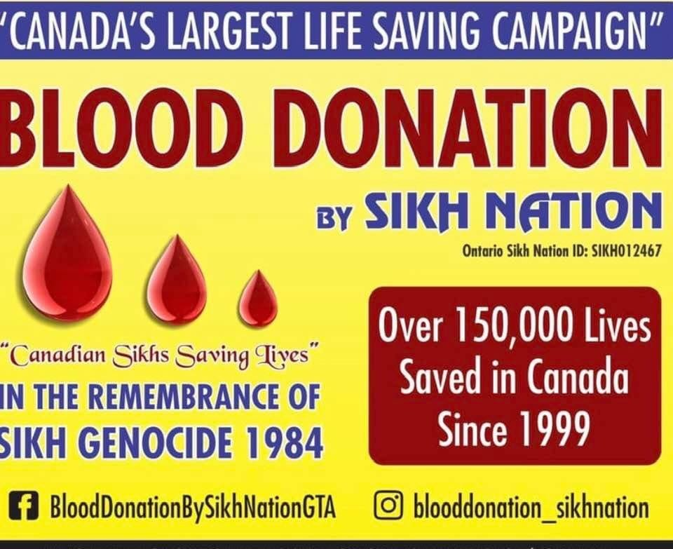 COVID-19: The Sikh Nation Breaks Records With The Biggest Blood Drive In Canada